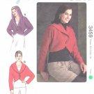 Kwik Sew Sewing Pattern 3459 Misses Sizes XS-XL (approx 6-22) Bolero Jacket Hood Option