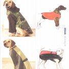 Kwik Sew Sewing Pattern 3544 Sizes XS-XL Dog Coats Raincoat