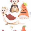 Kwik Sew Sewing Pattern 3629 Sizes XS-XL Dog Costumes Dracula King Pumpkin