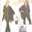 Simplicity Sewing Pattern 4374 Size 4-16 Easy Top Pants Loose-fitting Jacket Purse