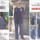 Vogue Sewing Pattern 1751 Misses Size 14-18 Easy Reversible Wardrobe Dress Skirt Pants Tops Jacket