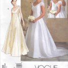 Vogue Sewing Pattern 2788 Bridal Original Misses Size 12-14-16 Wedding Dress Bridal Gown Formal