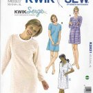 Kwik Sew Sewing Pattern 2821 Misses Sizes XS-XL (approx 6-22) Knit Nightshirt Nightgown Nighty