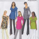 Butterick Sewing Pattern 5796 Misses Size 8-16 Easy Knit Maternity Tops Pants