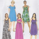 Butterick Sewing Pattern 6068 B6068 Misses Size 14-22 Easy Maternity Dresses Neckline Length Options