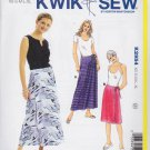 Kwik Sew Sewing Pattern 2954 Misses Sizes XS-XL (approx 8-22) Wrap Skirts