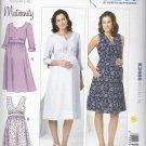 Kwik Sew Sewing Pattern 3486 Maternity Misses Size 6-22 Raised Waist Dress Sleeve Options