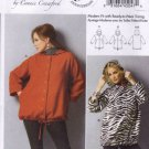 Butterick Sewing Pattern 5931 Womens Plus Size 18W-44W Loose-Fitting Hooded Long Sleeve Jacket
