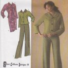 Simplicity Sewing Pattern 4405 Misses Size 12-20 Lined Jacket Skirt Pants Suit Pantsuit June Colburn