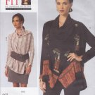 Vogue Sewing Pattern 1430 Misses'/Women's Plus Size 10-32W Sandra Betzina Blouse Skirt