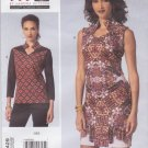 Vogue Sewing Pattern 1429 Misses'/Women's Plus Size 10-32W Sandra Betzina Pullover Top Dress