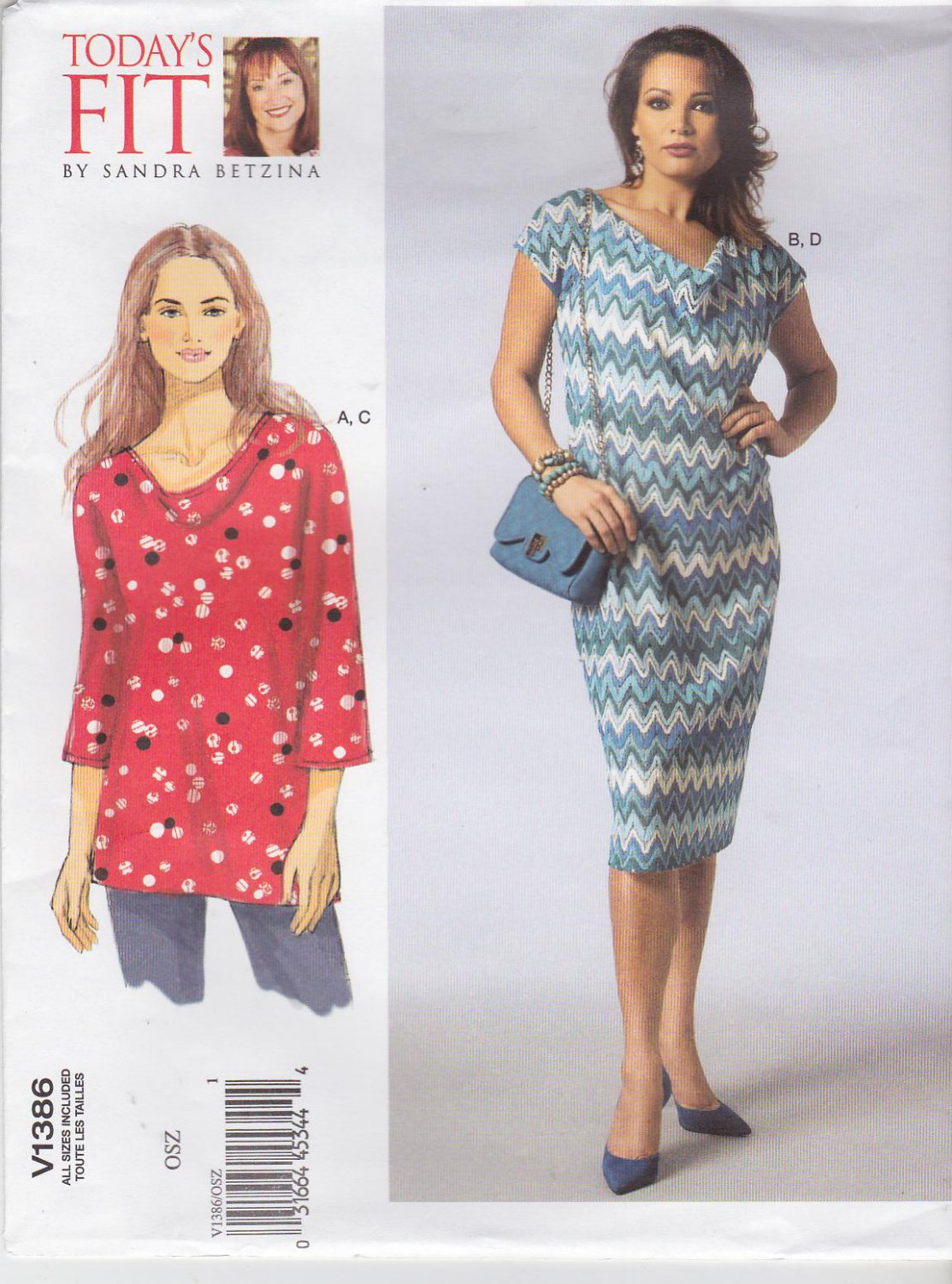 plus dress patterns knit