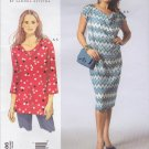 Vogue Sewing Pattern 1386 Misses'/Women's Plus Size 10-32W Sandra Betzina Easy Knit Tunic Dress Slip