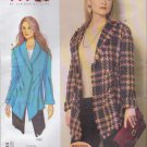 Vogue Sewing Pattern 1364 Misses'/Women's Plus Size 10-32W Sandra Betzina Easy Unlined Jacket