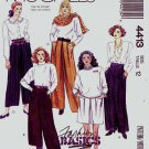 McCall's Sewing Pattern 4413 Misses Size 12 Fashion Basics Loose Fitting Pants Shorts
