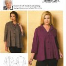 Butterick Sewing Pattern 6261 Women's Plus Size 18W-44W Unlined Button Front Jacket