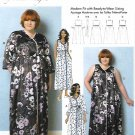 Butterick Sewing Pattern 6300 B6300 Women's Plus Size 18W-44W Robe Nightgown Connie Crawford
