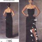 Vogue Sewing Pattern 1426 Misses Size 14-22 Badgley Mischka Strapless Evening Gown