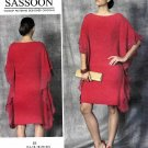 Vogue Sewing Pattern 1473 Misses Size 6-14 Easy Bellville Sassoon Dress Caftan Kaftan
