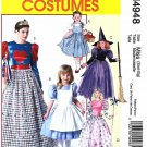 McCall's Sewing Pattern 4948 Misses Size 8-22 Costumes Witch Dorothy Alice Queen of Hearts