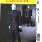 "McCall's Sewing Pattern 4745 Men's Chest Size 46-56"" Civil War Uniforms Pants Jacket Coat"