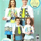 Kwik Sew Sewing Pattern 0209 K209 Adult Children Sizes S-XL Full Aprons