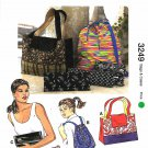 Kwik Sew Sewing Pattern 3249 Misses Child Bags Purse Backpack Cases Clutches