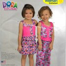 Simplicity Sewing Pattern C1400 1400 Girls Size 3-8 Dora the Explorer Shorts Pants Suntop Top