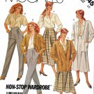 McCalls Sewing Pattern 3245 Misses Size 12 Wardrobe Jacket Skirt Pants Shirt Blouse