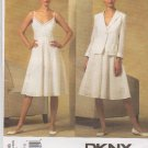 Vogue Sewing Pattern 2966 Misses Size 6-12 DKNY Donna Karan Summer Dress Jacket Sundress