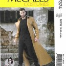 McCall's Sewing Pattern 7374 Men's Size 46-52 Yaya Han Cosplay Costume Coat Long Sleeves