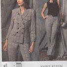 Vogue Sewing Pattern 2830 Misses Size 14-16-18 Anne Klein Jacket Pants Pantsuit