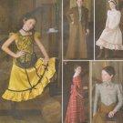 Simplicity Sewing Pattern 2843 Girls Sizes 7-14 Western Costume Dress Petticoat Jacket