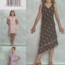 Vogue Sewing Pattern 7990 Girls Size 10-12-14-16 Easy Pullover Dresses Sleeve Length Variations