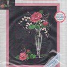 "Stitchables Rose Perfection 72148 Easy Crewel Embroidery Kit Sue Roedder 8"" x 10"" Frame Included"