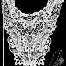 Saint Louis Trimming Lace Piece #1936 Wedding Bridal Basque Bodice