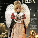 "Heavenly Messangers Melody Plastic Canvas 17"" Angel #943341 Sandra Miller-Maxfield"