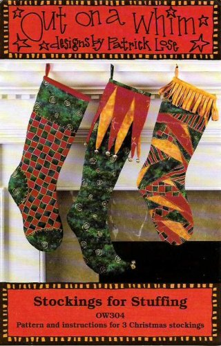 Indygo Junction Out on a Whim OW304 3 Stockings for Stuffing Christmas Patrick Lose