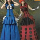 Simplicity Sewing Pattern W0100 0100 Misses Size 14-22 Dr. Who TARDIS Dalek Cosplay Costumes