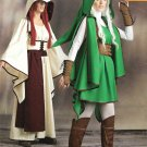 Simplicity Sewing Pattern W0105 0105 8199 Misses Size 14-22 Cosplay Gaming Warrior Costumes