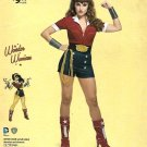 Simplicity Sewing Pattern W0110 0110 8196 Misses Size 14-22 DC Comics Bombshell Wonder Woman Costume