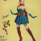 Simplicity Sewing Pattern W0112 0112 8185 Misses Size 14-22 DC Comics Bombshell Supergirl Costume