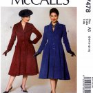 McCall's Sewing Pattern 7478 Misses Size 6-14 Archive Collection c. 1956 Button Front Coat