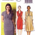 Butterick Sewing Pattern 5917 Misses Size 6-14 Easy Straight Flared Empire Waist Dress