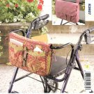 Kwik Sew Sewing Pattern 3927 Wheelchair Walker Carryall Carrier Bag