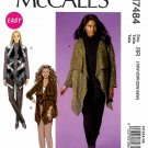 McCall's Sewing Pattern M7484 7484 Womens Plus Size 18W-24W Easy Khaliah Ali Cardigan Vest