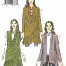 Vogue Sewing Pattern 9213 V9213 Misses Sizes 4-14 Easy Draped-Collar Vest Jackets