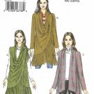 Vogue Sewing Pattern 9213 V9213 Misses Sizes 16-26 Easy Draped-Collar Vest Jackets