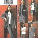 Vogue Sewing Pattern 9215 V9215 Misses Sizes 16-26 Easy Wardrobe Jacket Dress Top Vest Skirt Pants