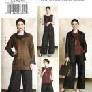 Vogue Sewing Pattern 9217 V9217 Misses Sizes 16-26 Kathryn Brenne Wardrobe Jacket Top Pants